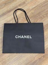 """AUTHENTIC - Chanel - Empty Paper Bag - Black - 17 x 13 x 6.25"""""""