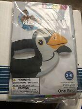 Penguin Split Ring Swimming Swim Float Swim Tube 3-6 ~ New