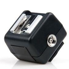 Viltrox FC-8N Hot Shoe Adapter for Canon Nikon w/ PC Sync Socket  Slave Trigger