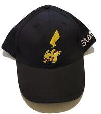 Pokemon 2008 World Championship Staff Black Hat Pikachu Adjustable Strap New