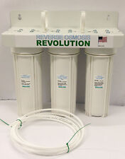Brand New Replacement Reverse Osmosis Assembly Water System with 3 Housing