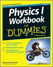 Physics I Workbook For Dummies  Holzner, Steven  Good  Book  0 Paperback