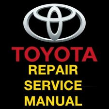 Service Repair Manuals For Toyota Sequoia For Sale Ebay