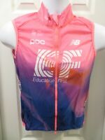 NEW 2020 RAPHA EF Pro Cycling Team Lightweight Gilet Vest Wind Water Pink Small