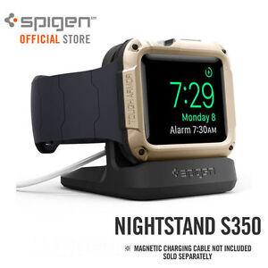 Genuine SPIGEN Nightstand Charging Dock Stand S350 for Apple Watch 38/42/40/44mm