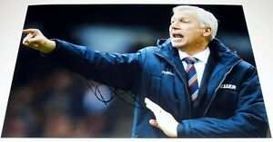 ALAN PARDEW CRYSTAL PALACE PERSONALLY SIGNED 12X8 AUTOGRAPH PHOTO SOCCER