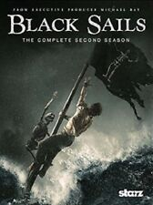 Black Sails - The Complete Second Season (2015, Blu-Ray + Digital) NEW Sealed