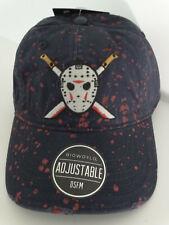 Friday The 13th Jason Voorhees Splatter Adjustable Hat Nwt
