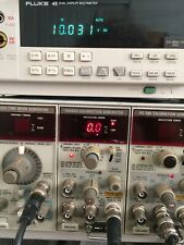 Working Well Tektronix Pg506a Calibrator Plugin For Oscilloscopes