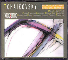 Michael PONTI: TCHAIKOVSKY Piano Concerto 1 2 3 TANEYEV 2CD Richard Kapp Froment