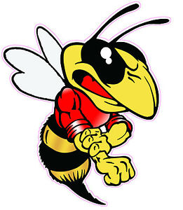 """Stinger Bee Decal 5"""""""