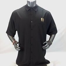 """Mens XXL Black Bowler Shirt Hewlett Packard """"HP Invent"""" in Gold, Company Issue"""