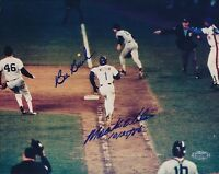 Bill Buckner Mookie Wilson Signed 8x10 Photo Autograph Auto Steiner