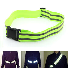 Reflective Sash Belt Pvc - Bike Bicycle Cycling Dog Walking Horse Riding Safety