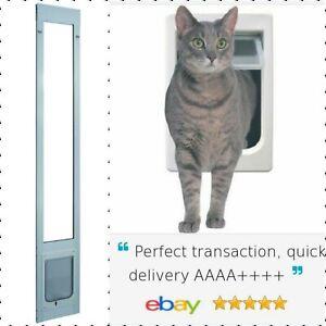 Chubby cat patio pet door