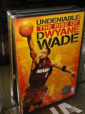 NBA Player Profile: Undeniable: The Rise Of Dwyane Wade (DVD) Miami Heat, NEW!
