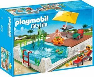 Playmobil 5575 City Life Einbau-Swimmingpool passend für 5574 Luxusvilla