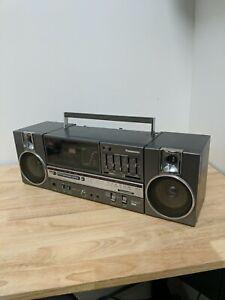 Panasonic RX-C45 Vintage Ghetto Blaster Boom Box*CASSETTE PLAYER DOESNT WORK*
