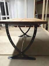 Dining Table Industrial Farmhouse Reclaimed Rustic Medieval