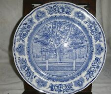 Vintage Wedgwood Yale University ~ Collector Plate - Yale College Fence & Campus