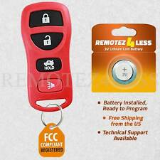 Keyless Entry Remote for 2003 2004 2005 2006 Infiniti G35 Car Key Fob Red