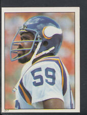 Topps 1981 American Football Sticker No 217 - Matt Blair - Vikings (T433)