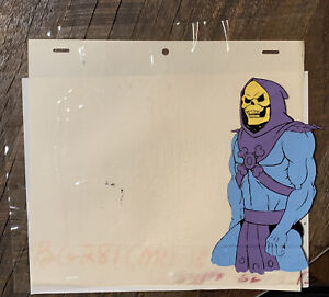he-man masters of the universe skeletor cel and orko drawing