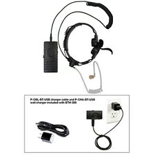 Pryme BTH-300-KIT6 Blutetooth + Gladiator Throat Mic for Radios + Cell Phones