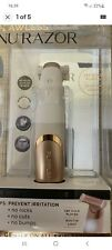 JML FLAWLESS NU RAZOR 18k Gold Plated With Built In Light RECHARGEABLE