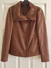 Elie Tahari Super Soft Lamb Leather Jacket Size XS