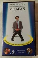 The Exciting Escapades Of Mr Bean VHS 1991 Rowan Atkinson New & Sealed Cassette