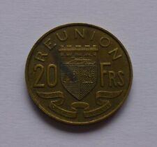 Réunion (Reunion) 20 Francs 1955