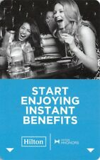 Hotel Key Card Hilton - Start Enjoying Instant Benefits 2016 USA-12879