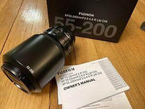 Fujifilm Fuji Fujinon XF 55-200 mm F/3.5-4.8 R LM OIS Zoom Lens *MINT*