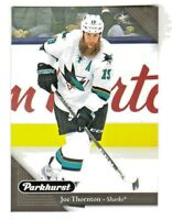 2017-18 Upper Deck PARKHURST BLACK PARALLEL #188 JOE THORNTON San Jose Sharks