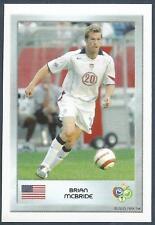 PANINI FIFA WORLD CUP-GERMANY 2006- MINI SERIES- #089-USA-BRIAN McBRIDE