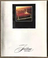 c1970 Fairlane by Ford original Australian sales brochure (2 Staples)