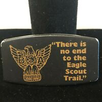 Vintage Tanah Keeta Money Clip There Is No End To The Eagle Scout Trail
