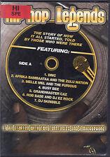 Hip Hop Legends (DVD) Red Rental Label on Art, Disc and Case Like New
