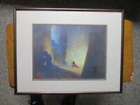 Disney Authentic Commemorative Lithograph 1991 of Fantasia