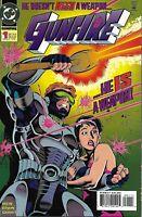 Gunfire Comic 1 Cover A First Print 1994 Len Wein Steve Erwin Garvey DC