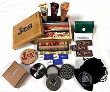 Raw Boîte Montcherry Aubaines avec Tous Produits Fully Loaded Cadeau Kits Par