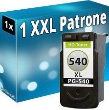 1x tinta cartuchos para Canon pg-540 XL mg2150 mg3150 mg3220 mg3222 mg3240 mx455