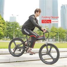 Samebike Electric Bike 26INCH Folding 48V 350W Motor Electric Mountain Bicycle