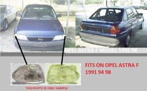OPEL ASTRA F MODEL 1991 94 98 FRONT CORNER TURN LIGHTS WHITE PAIR LH RH NEW