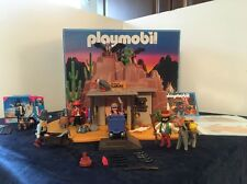 Playmobil Western Lot 3802 McLaren's Goldmine and 4576 Special Complete With Box