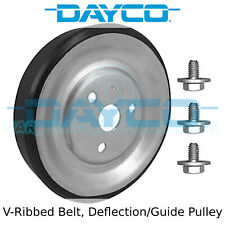 Dayco V-Ribbed Belt Idler, Deflection/Guide Pulley - APV2978 - OE Quality