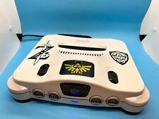 N64 LEGEND OF ZELDA OCARINA OF TIME NINTENDO 64 MODDED CUSTOM PAINT - JUMPER PAK