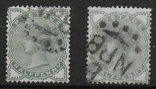 SG164/5. 1/2d.Green-Deep & Pale Shades.Some Short Perfs./Minor Faults. Ref 9.192