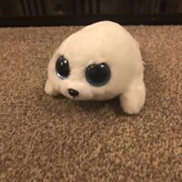 """VGC Ty Beanie Boos Icy the Seal 6"""" Sparkle Eyes Retired Excellent Condition"""